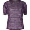 FULL TILT Shadow Stripe Girls Top Purple/Black - Top - $17.99
