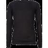 FULL TILT Solid Essential Girls Thermal Black - Long sleeves t-shirts - $7.97