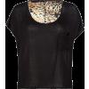 FULL TILT Woven Back Womens Top Black - Top - $15.99  ~ 13.73€