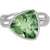Faceted Green Amethyst Ring - Items - £79.00  ~ $103.95