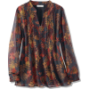 Fall Foliage Blouse - Long sleeves shirts - $79.95