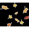 Fall leaves - Ilustracije -