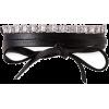 Fallon Leather Wrap Choker - Collane - $295.00  ~ 253.37€