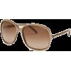 Fashion Sunglasses: Beige/Light Burgundy Gradient - Occhiali da sole - $97.02  ~ 83.33€