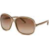 Fashion Sunglasses: Beige/Light Burgundy Gradient - Темные очки - $97.02  ~ 83.33€