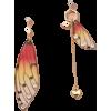 Fashion Earrings Creative Butterfly Simulation Asymmetric Resin Earrings Nhan263 - Earrings -