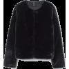 Faux Fur Jacket - Black - | H&M US - Jacket - coats -