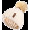 Faux fur Pom Pom hat - Hat -
