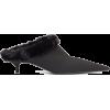 Faux-fur lined kitten heels £625 - Ballerina Schuhe -