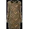 Fendi Vintage knitted polo dress - sukienki -