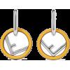 Fendi - Earrings -