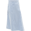 File uploaded. Asymmetric striped cotton - Saias -