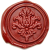 Filigree Deco Wax Seal Stamp Backtozero - Items -