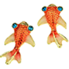 Fish Earrings - Earrings -