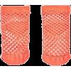 Fishnet Ankle Socks - Ostalo -