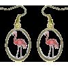 Flamingo Earrings - Naušnice -