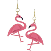 Flamingo Earrings - Brincos -