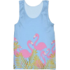 Flamingo Tank Top - Majice bez rukava -
