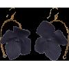 Flora Earrings - Blue Flowers - イヤリング -