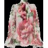 Floral Blouse - Dolce & Gabbana - Košulje - duge -