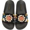 Floral Dolce and Gabanna Slides - Sandali -
