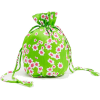 Floral Drawstring Pouch By Faithful - ハンドバッグ - $20.00  ~ ¥2,251