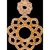 Floral Drop Earring - Earrings -