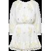Floral Off-The-Shoulder Cotton Dress - Dresses -