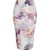 Floral Pencil Skirt - Skirts -