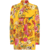 Floral Printed Silk Shirt - Gucci - Camicie (lunghe) -