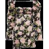 Floral Puff Sleeve Dress - Vestiti -