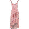 Floral Ruffled Front Dress - Dresses - $25.00