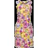Floral Shift Dress - Dresses -