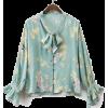 Floral Top - Shirts -