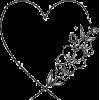 Floral and Heart Design - Ilustracije -