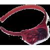 Floral-appliquéd Bow Headband - Šeširi - $48.50  ~ 41.66€