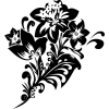 Floral stencil depositphotos - Illustrations -