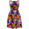 Floramoon Pretty Pansy Dress - Dresses - $150.00