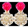 Flower Bomb Pink - Kolczyki - $15.00  ~ 12.88€