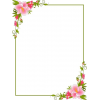 Flower Frame - Illustrazioni -