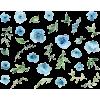 Flower Wall paper - Ilustrationen -