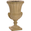 Flower container brown urn - 植物 -