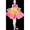 Flower dress - Illustrazioni -