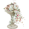 Flowers and Pedestal Urn - Illustrations -