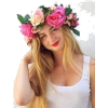 Flowers in hair - People -
