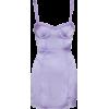 For Love & Lemons Lavender Mini Dress - Dresses -