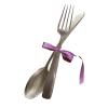Fork And Spuun Gray - Items -