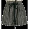 Forte Forte frayed herringbone shorts - Hlače - kratke -