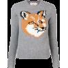 Fox print sweater - Pullovers -