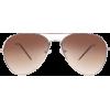 ASOS Gold Aviator Sunglasses - Óculos de sol - 12.00€